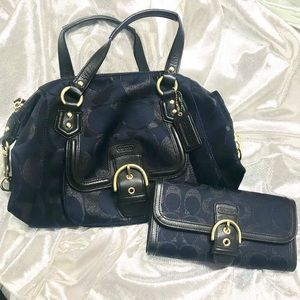 COACH Tote Bag Satchel & Wallet